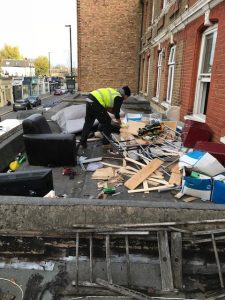Fly Tipping Waste Kew